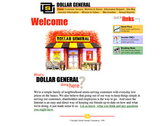 DollarGeneral.com is launched